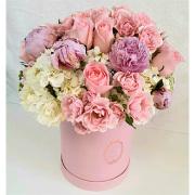 Pretty Pink Floral Box