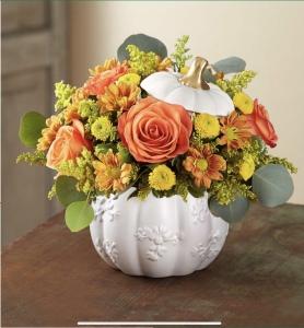 Grateful White Pumpkin