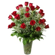 2 Dozen Radiant Roses Arrangement