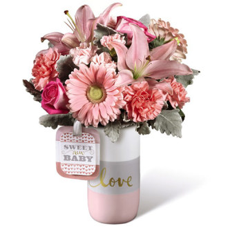 The Sweet Baby Girl Bouquet