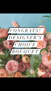 Congratulations Designer's Choice Bouquet