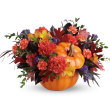 Hauntingly Pretty Pumpkin Centerpiece