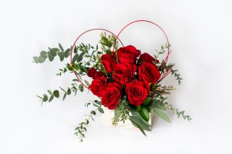 The Romance of Roses Bouquet