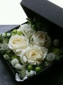 Designers Choice Floral Box in Whites