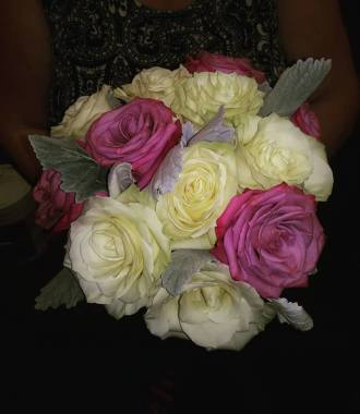 Picture Perfect Roses Wedding Bouquet