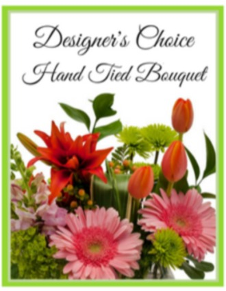 Designer\'s Choice Hand Tied Bouquet