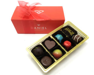 Daniel signature box chocolate