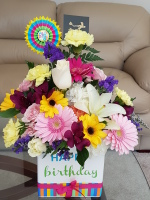 FTD happy birthday bouquet