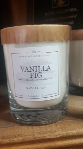 Vanilla Fig Pure plant based luxury
