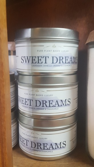 Sweet Dreams Massage Candle