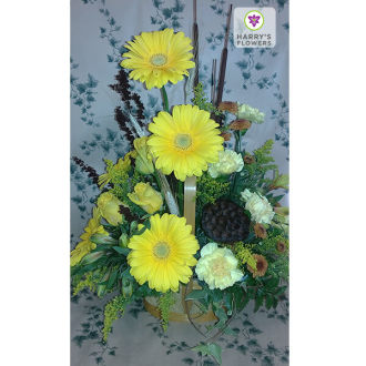 Golden Harvest Arrangement