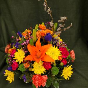 Joyful Blooms Arrangement