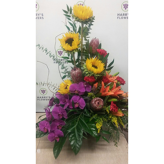 Tropical Sunshine Arrangement