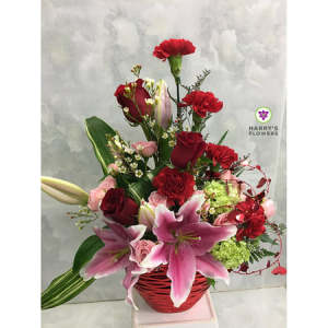 Expressions Of Love Floral Arrangement