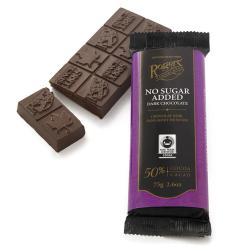 Rogers' No Sugar Added Dark Chocolate Bar