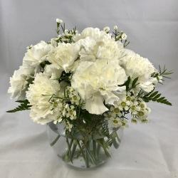 12 Carnation Centerpiece - Garden Party