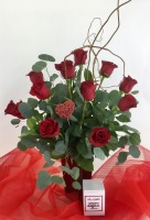 Red Ruby Arrangement