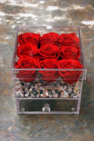 Red Overlast Rose Box