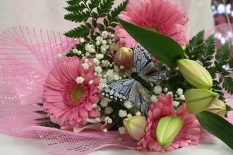 Gerbera Lily Bouquet