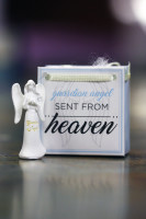 Small Guardian Angel Figurine