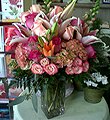 Profoundly Pink Bouquet by Vivian
