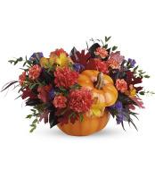 Hauntingly Pretty Pumpkin Bouquet