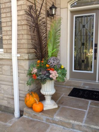 Striking Autumn Urn