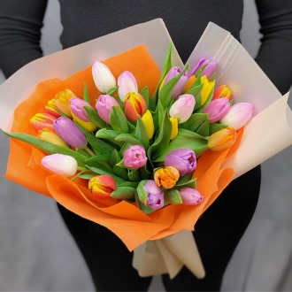 SOLD OUT!!! Tulip Garden Bouquet