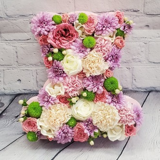 Baby Girl Bear Floral Box