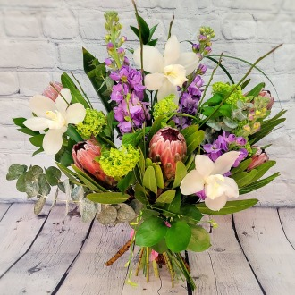 SOLD OUT!!! Tropical Garden Luxury Hand-Tied Bouquet