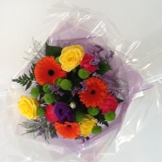 Hot Colours Bouquet