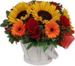 SUNFLOWER GOODNESS BASKET