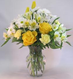 Sunny Spring Vase