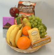 Classic Fruit and Gourmet Basket