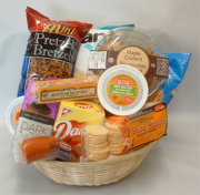Deluxe Snack and Munchie Basket
