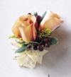 FTD Peach Silk Corsage