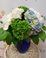Hydrangea Bliss Vase Arrangement