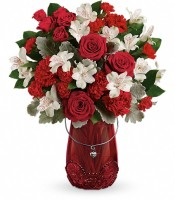 The Red Haute Bouquet