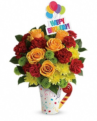 The Fun'n Festive Bouquet