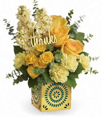 Shimmer Of Thanks Bouquet