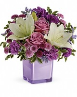 The Pleasing Purple Bouquet