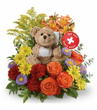 Beary Well Bear Bouquet
