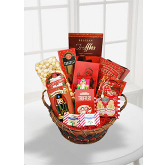 Season\'s Greetings Gourmet Basket