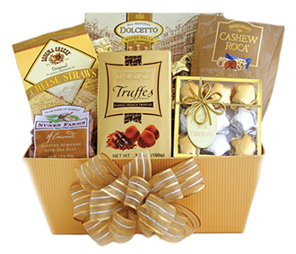 Golden Chocolate Box