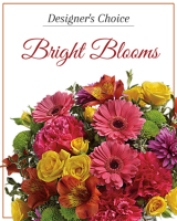 Designer's Choice Bright Blooms arranged in a vase