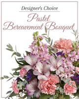 Designer's Choice Pastel Bereavement Bouquet