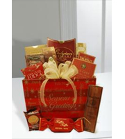 SEASON'S GREETINGS GOURMET BASKET