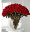 Breathless  4 doz roses in Pillow Vase