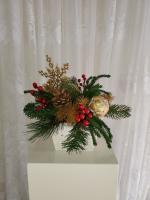 Gold Snowflake Arrangement