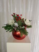 Red Ornament Arrangement